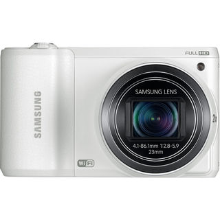 Samsung WB800F Smart 16.3MP Wi-Fi White Digital Camera