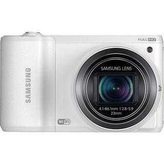 Samsung WB800F Smart 16.3MP Wi-Fi White Digital Camera