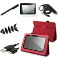 BasAcc Case/ Charger/ Stylus for Amazon Kindle Fire HD 7-inch