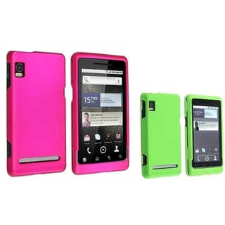 BasAcc 2-case Set for Motorola Droid 2 Global A955