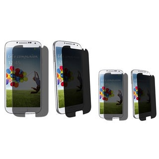BasAcc Privacy LCD Protector for Samsung Galaxy S4 i9500 (Pack of 2)