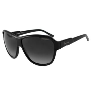 Carrera Carrera 41 Women's Black/Grey Gradient Rectangular Sunglasses