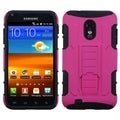 BasAcc Hot Pink/ Black Car Armor Stand Case or Samsung Epic 4G Touch