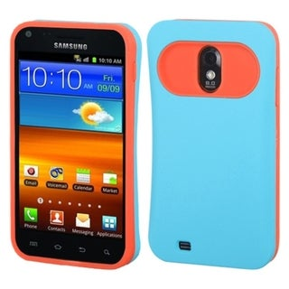 BasAcc Baby Blue/ Orange Card Wallet Case for Samsung� Epic 4G Touch