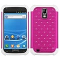 BasAcc Hot Pink/ White TotalDefense Case for Samsung T989 Galaxy S II