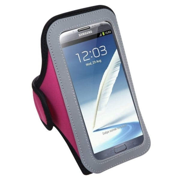 INSTEN Hot Pink Vertical Pouch Armband for LG Optimus G Pro E980