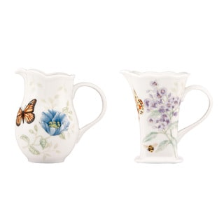 Lenox Butterfly Meadow 2-piece Pitcher Set