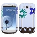 BasAcc Flowers in Fresh Wind Case for Samsung Galaxy S3 i9300
