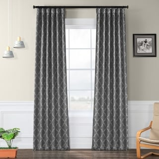 EFF Seville Print Blackout Curtain Panel