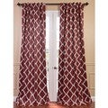 Trellise Print Blackout Curtain Panel