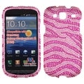 BasAcc Zebra Skin Diamante Case for Samsung Galaxy Stratosphere III