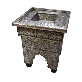 Dynasty Silver End Table (Morocco)