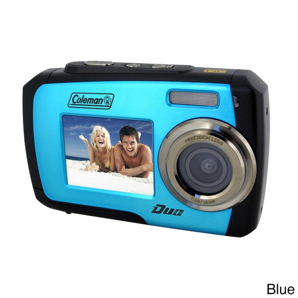 Coleman Duo 2V7WP 14MP Waterproof Digital Camera with Dual View LCD