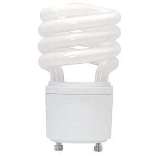 Goodlite Twist and Lock 13 Watt Replacement Mini Compact Fluorescent T2 Spiral Light Bulbs (Pack of 30)