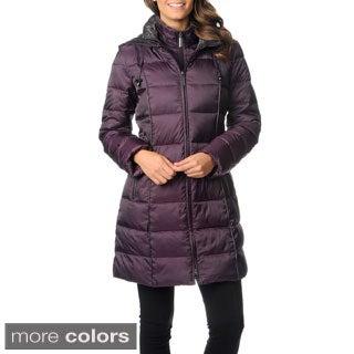 Nautica Women's Walker-length Down Coat