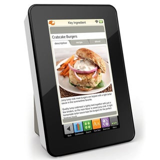Key Ingredient Recipe Reader with 7-inch Screen, Wi-Fi, Multi Timer, Ingredient Substitutions and Conversion Calculator