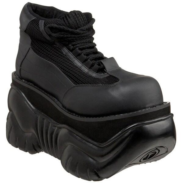 Demonia Men's 'BOXER-01' Platform Lace-up Sneaker Shoes