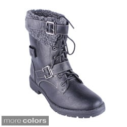Reneeze Women's 'ABBY-03' Winter Combat Boots