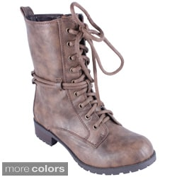 Reneeze Women's 'ALICE-02' Combat Boots