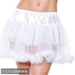 Seven Til Midnight Women's Marabou Petticoat
