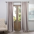 Exclusive Fabrics Charleston Stripe Tan Blackout Curtain Panel Pair