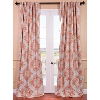 Henna Blackout Curtain Panel