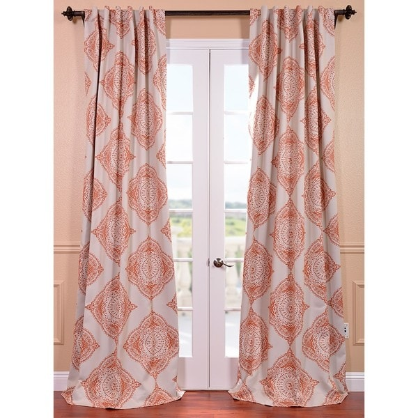Eff Henna Blackout Curtain Panel