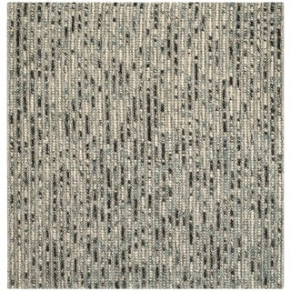 Safavieh Hand-knotted Bohemian Grey Wool Rug (6' Square)