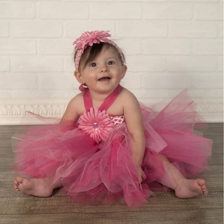 Infant Girl's Pink Tutu Dress