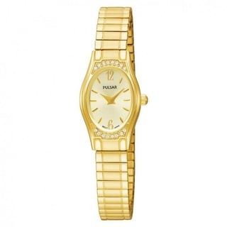 Pulsar Women's Gold-Tone Expansion Bracelet Watch