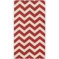 Safavieh Indoor/ Outdoor Courtyard Red Rug (2' x 3'7)