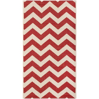 Safavieh Indoor/ Outdoor Courtyard Red Rug (2'7 x 5')