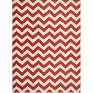Safavieh Courtyard Red Indoor/ Outdoor Area Rug (8' x 11')