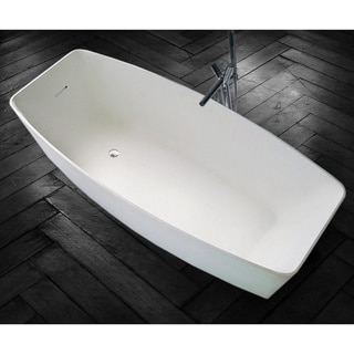 Aquatica PureScape 604M Freestanding AquaStone Bathtub