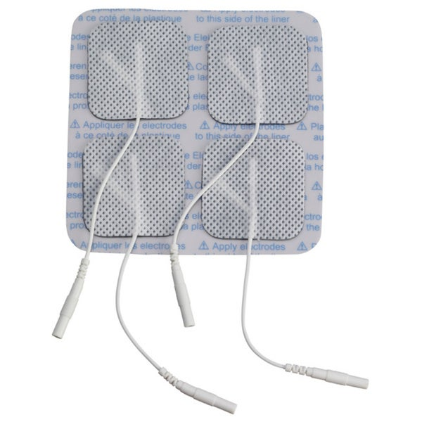 Square Electrodes Replacement Electrode Pads for TENS Unit
