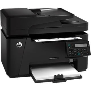HP LaserJet Pro M127FN Laser Multifunction Printer - Monochrome - Pla