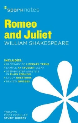 Sparknotes Romeo and Juliet (Paperback)
