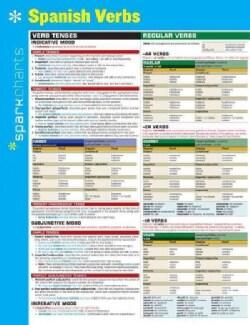 Sparkcharts Spanish Verbs (Cards)