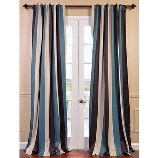 Key Largo Stripe Blackout Curtain Panel