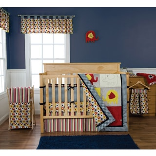 Trend Lab Elephant Parade 5-piece Crib Bedding Set