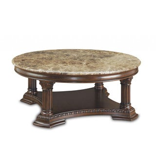 Capri Round Cocktail Table Overstock Shopping Great Deals On Art Coffee Sofa End Tables