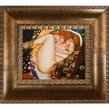 Gustav Klimt 'Danae' Hand Painted Framed Canvas Art