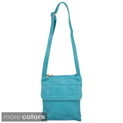Journee Collection Women's Cross Body Messenger Bag