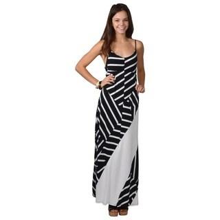 Journee Collection Women's Sleeveless Empire Waist Maxi Dress