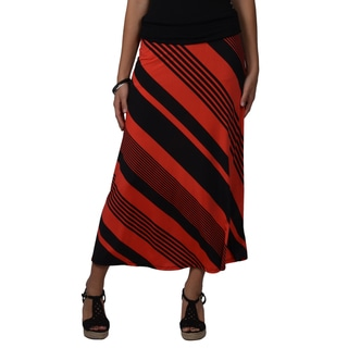 Journee Collection Womens Cinched Stretch Maxi Skirt