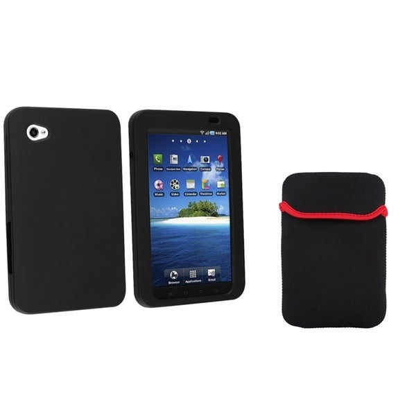 BasAcc Tablet Sleeve/ Silicone Case for Samsung P1000 Galaxy Tab