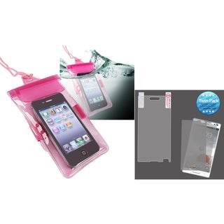 BasAcc Waterproof Bag Case/ Screen Protector for LG P769 Optimus L9