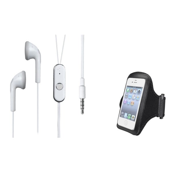 INSTEN Universal Black Armband/ Headset for Cell Phone