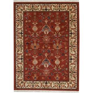 Karastan English Manor William Morris Red Rug (9'2 x 13')