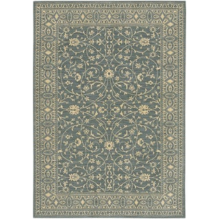 Karastan English Manor Somerset Lane Blue Rug (8'6 x 11'6)